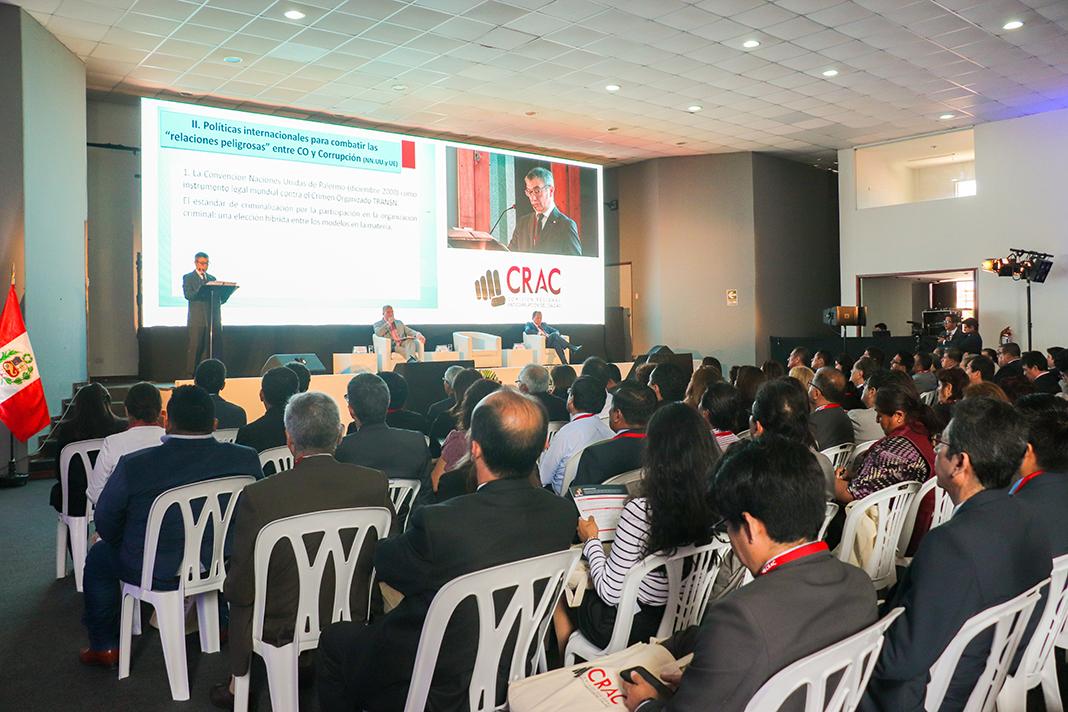 Congreso Internacional de Lucha Contra la Corrupción en el Callao permitirá unificar criterios en políticas públicas