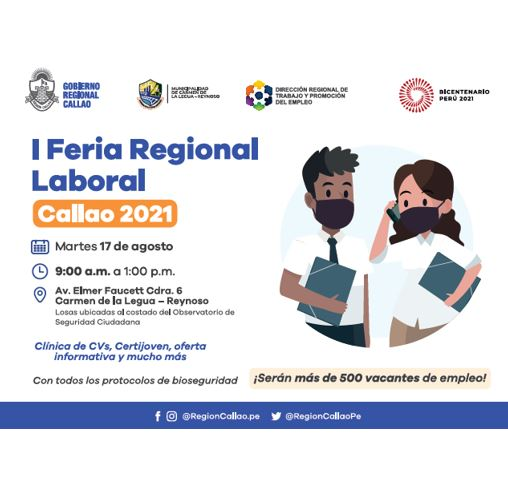 I FERIA REGIONAL LABORAL CALLAO 2021