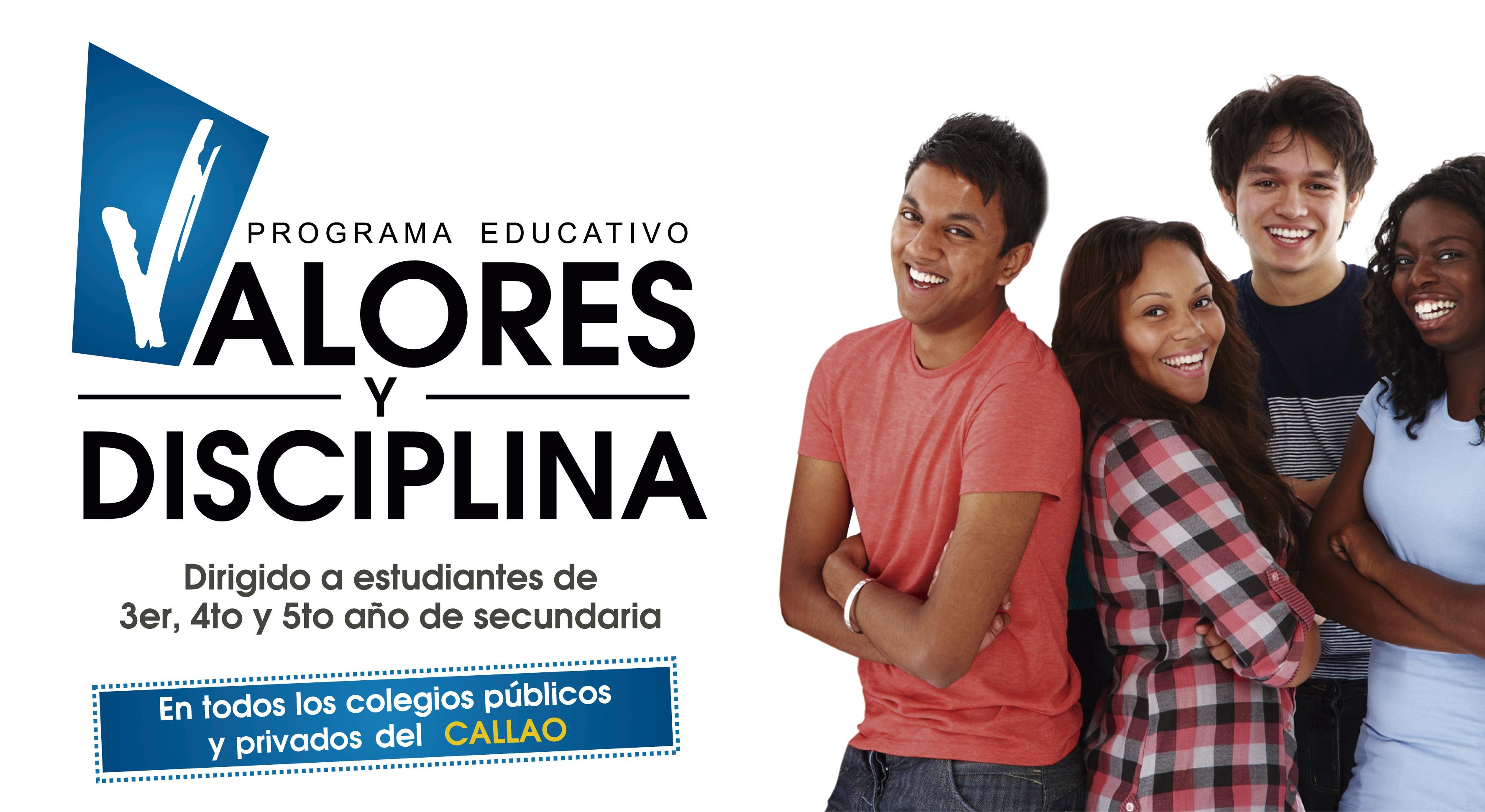 PROGRAMA EDUCATIVO VALORES Y DISCIPLINA