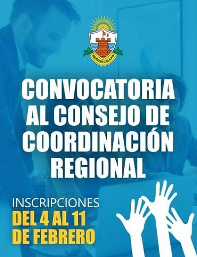 GOBIERNO REGIONAL DEL CALLAO CONVOCA A LA SOCIEDAD CIVIL A PARTICIPAR EN EL CONSEJO DE COORDINACIÓN REGIONAL