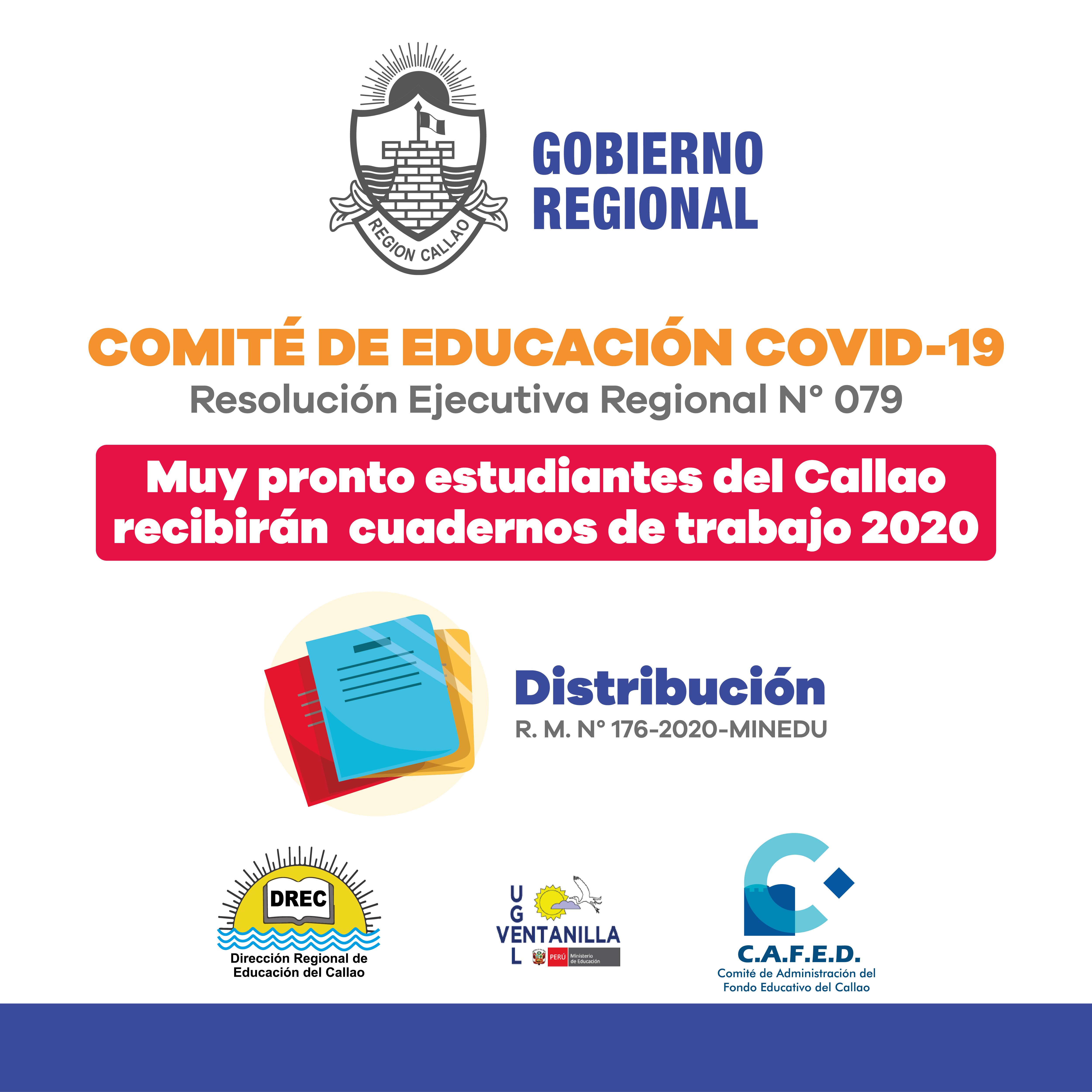 DISTRIBUCIÓN DE CUADERNOS DE TRABAJO 2020