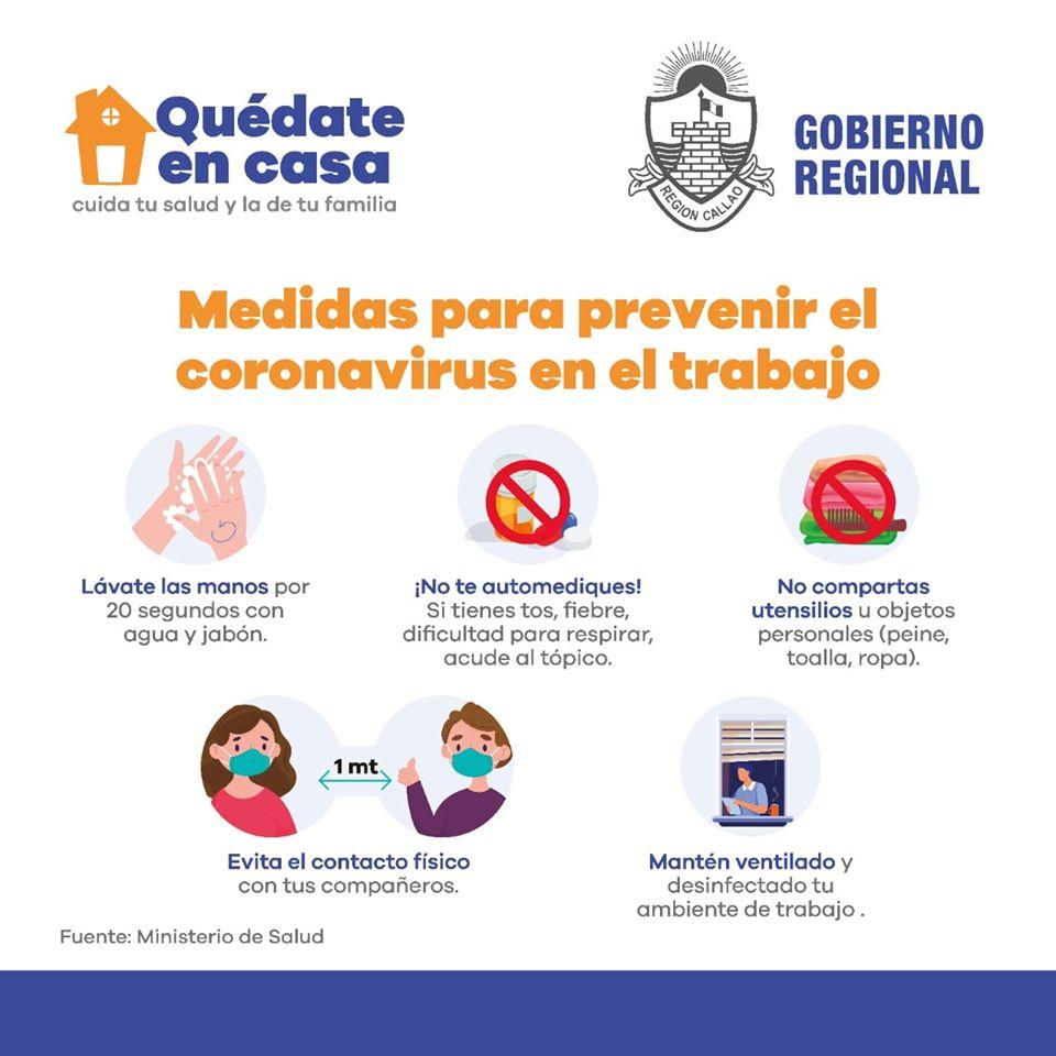 Recomendaciones para detener el contagio del Covid-19