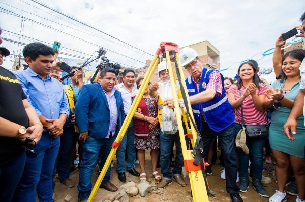 GOBIERNO REGIONAL DEL CALLAO INICIA CONSTRUCCIÓN DE PISTAS Y VEREDAS EN EL A. H. VILLA EMILIA DE MI PERÚ.
