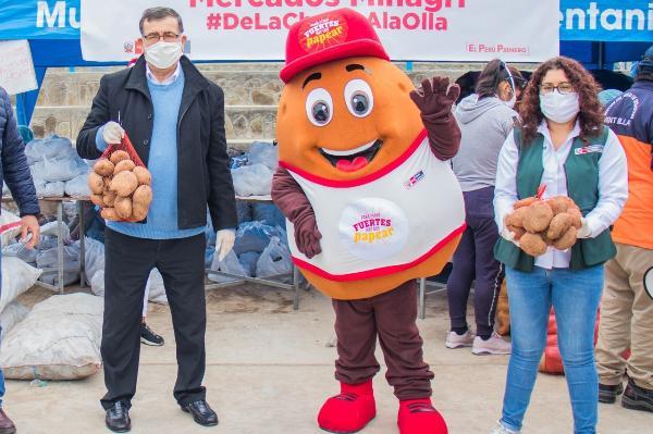 GOBIERNO REGIONAL DEL CALLAO DISTRIBUIRÁ DOS TONELADAS DE PAPAS A POBLACIÓN MÁS VUNERABLE DE VENTANILLA Y CALLAO.