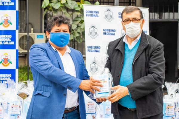 MILES DE FAMILIAS DE LOS SIETE DISTRITOS DE LA REGIÓN CALLAO SE PROTEGEN PARA NO CONTAGIARSE CON CORONAVIRUS.