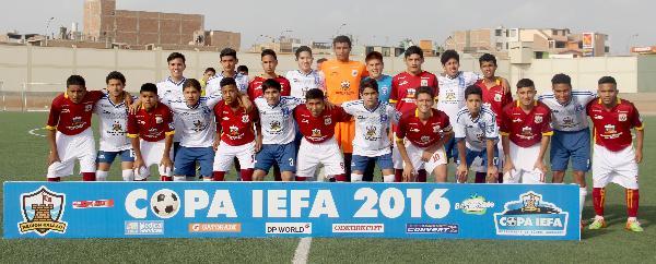 Todo quedo listo para los cuartos de final de la copa IEFA 2016