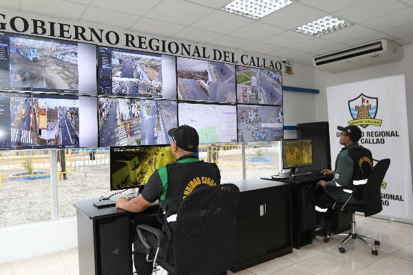REGIÓN CALLAO INAUGURA PUESTO DE VÍDEOVIGILANCIA EN LA ZONA SUR