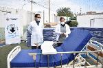 DIRESA CALLAO ENTREGA 60 CAMAS A HOSPITALES Y REALIZARÁ PRUEBAS RÁPIDAS A VECINOS DE CARMEN DE LA LEGUA REYNOSO